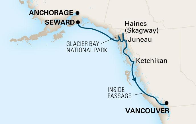 Alaska Cruises Alaskan Cruise Packages Holland America Cruise To