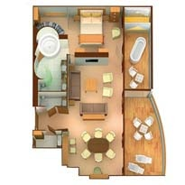 Wintergarden Suites schematic