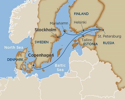 7 Days - Scandinavia & Baltic Spectacular [Copenhagen to Stockholm]