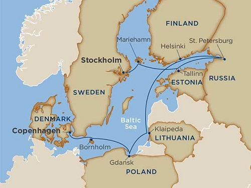 10 days - Baltic Delights [Stockholm to Copenhagen]