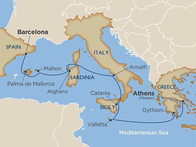 10 days - Mediterranean Island Hopping Adventures