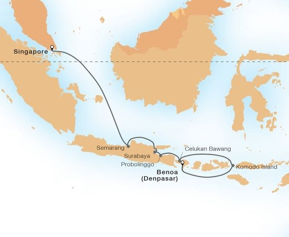10-Day Gems Of The Java Sea