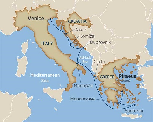 9 Days - Antiquities of the Adriatic & Greece [Venice to Athens]