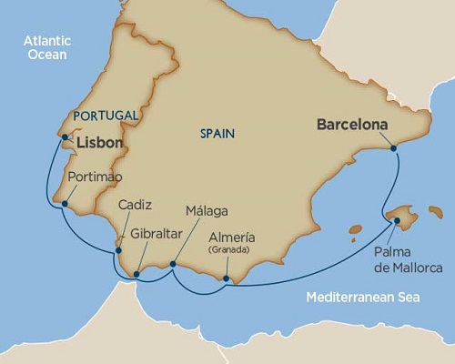 8 Days - Spanish Serenade [Barcelona to Lisbon]