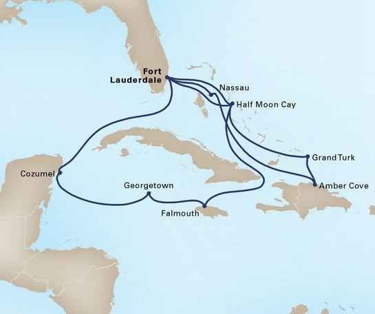 14-Day Western & Tropical Caribbean Holiday