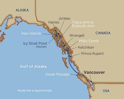 12 Days - Islands & Inlets of the Inside Passage [Vancouver to Vancouver]
