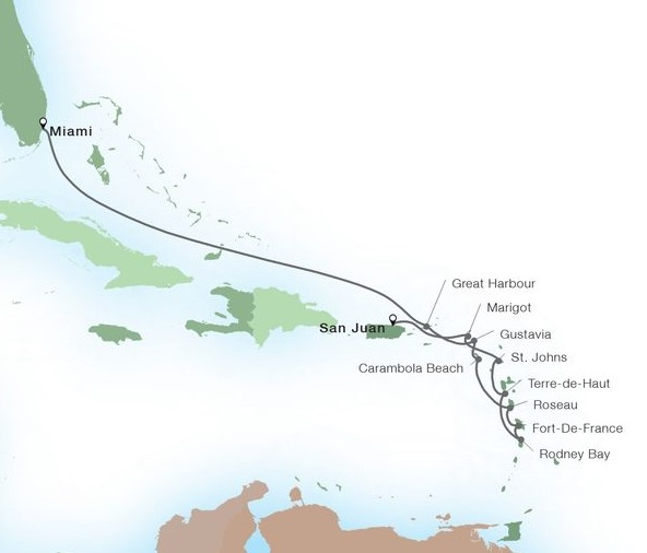 12-Day Leeward Island Gems