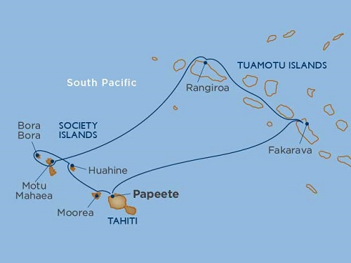 8 Days - Tahiti & the Tuamotu Islands Air + Hotel Package