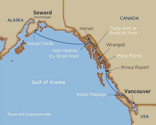10 Days - Alaskan Splendors [Seward [Anchorage] to Vancouver]