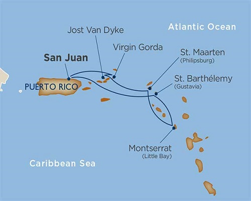 6 Days - San Juan & the Virgin Islands [San Juan to San Juan]