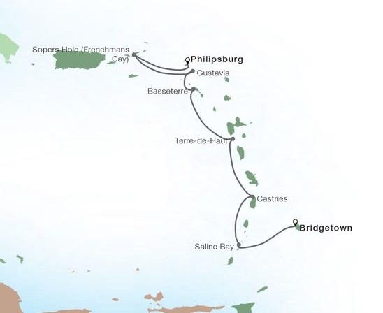7-Day Classic Yachtsman's Caribbean