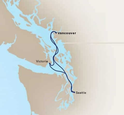 3-Day Pacific Northwest Cruise