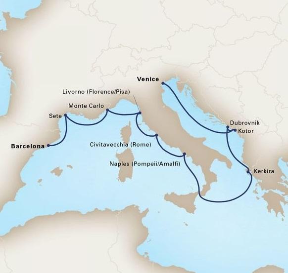 12-Day Mediterranean Romance