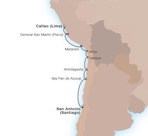 9-Day South Amercan Treasures