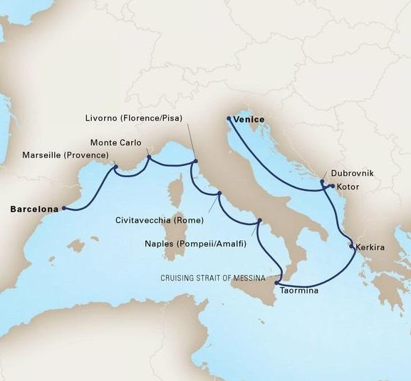 12-Day Mediterranean Tapestry