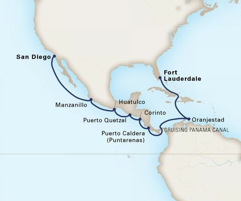 15-Day Panama Canal