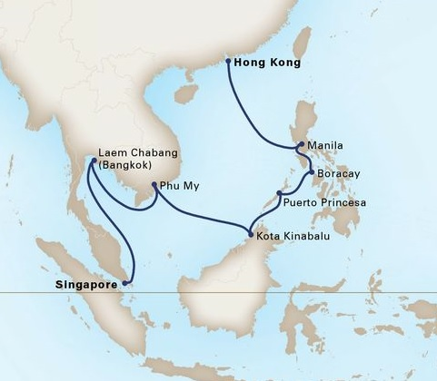 14-Day The Philippines, Malaysia & Thailand