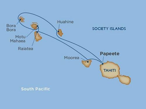 7 days - Dreams of Tahiti