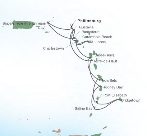 14-Day Caribbean Gems In-depth