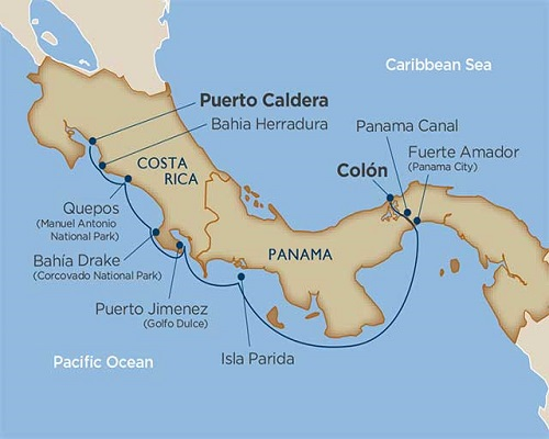 10 Days - Adventures In Panama & Costa Rica [Colón to Puerto Caldera]