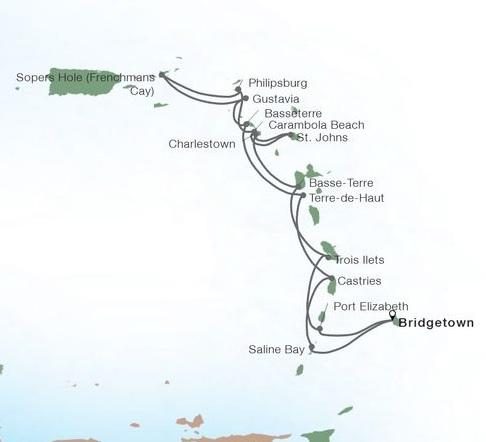 14-Day Exotic Caribbean In-depth