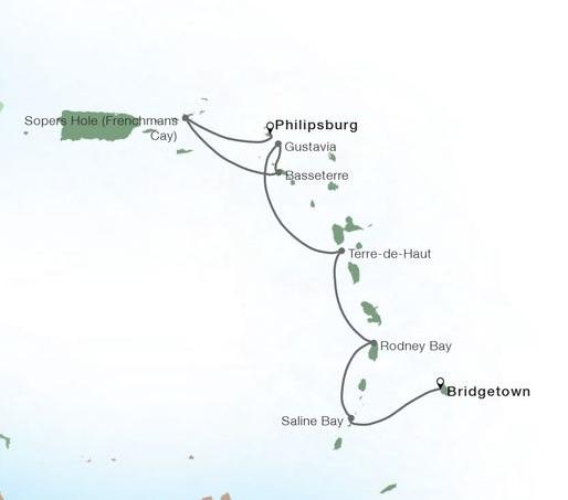 7-Day Yachtsman's Caribbean