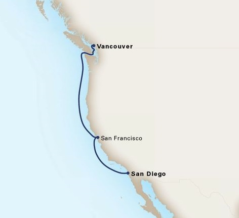 5-Day Pacific Coastal Cruise