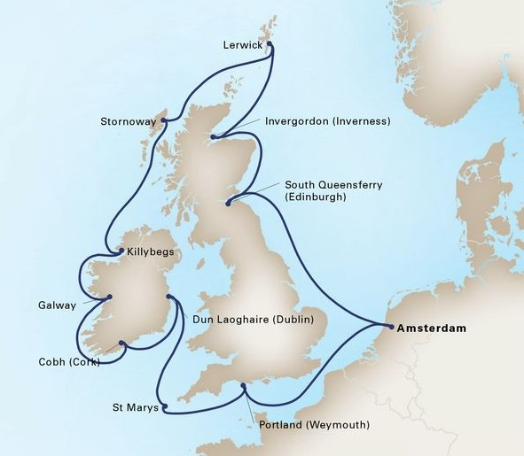 14-Day British Isles Explorer