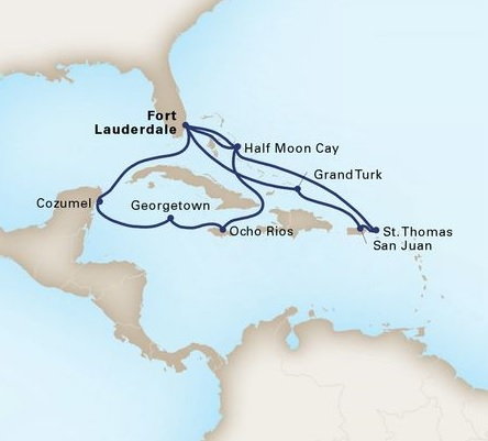 14-Day Eastern / Western Caribbean