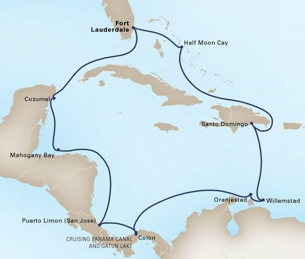 14-Day Caribbean Sunfarer Holiday