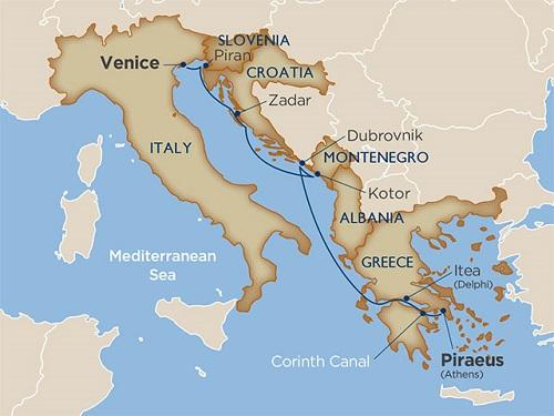 8 days - Secrets of Croatia & Greece via the Corinth Canal