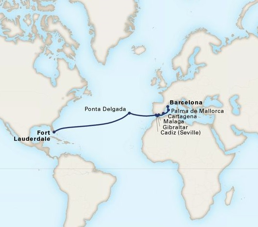 15-Day Passage To Spain