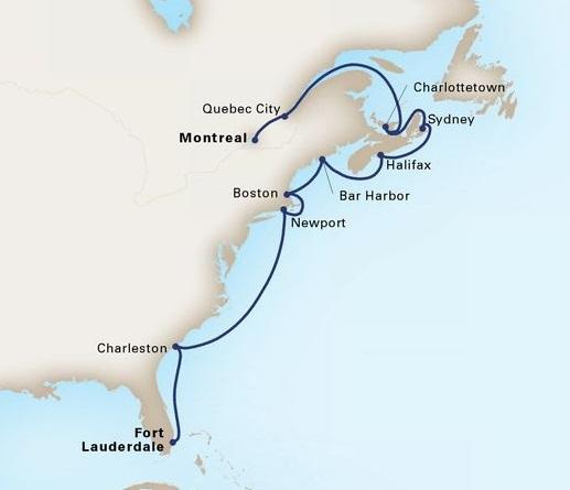 14-Day The Atlantic Coast