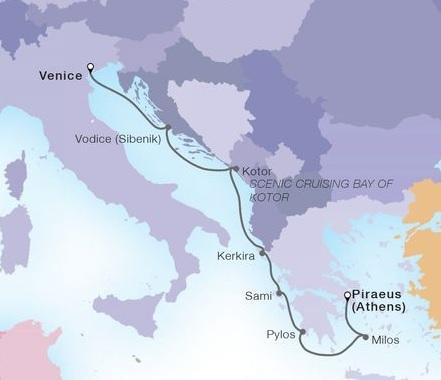 7-Day Adriatic & Greek Glories