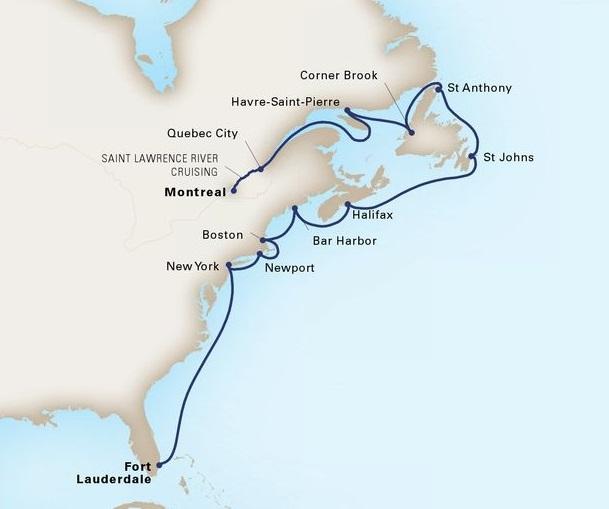 15-Day The Atlantic Coast