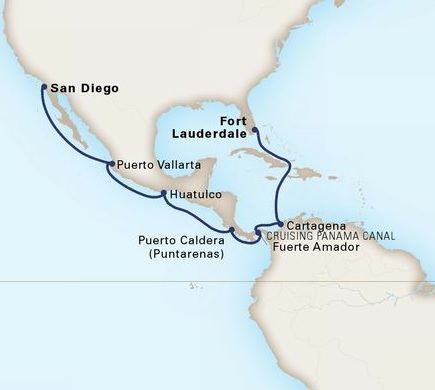 14-Day Panama Canal Holiday