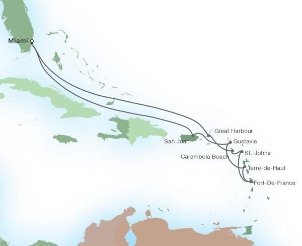 12-Day Caribbean Gems