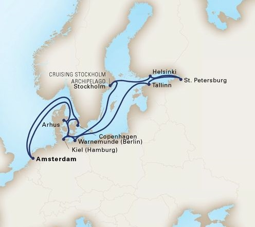 14-Day Jewels Of The Baltic