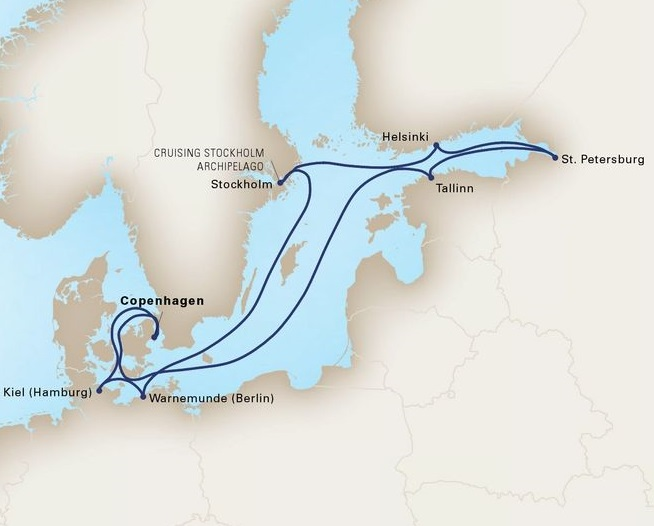 10-Day Jewels Of The Baltic