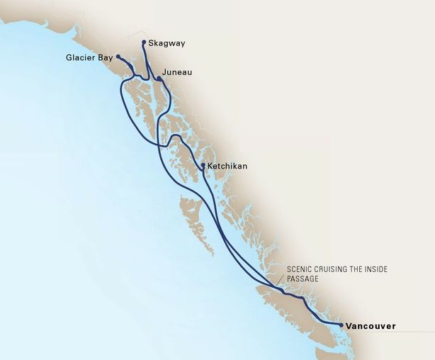 7-Day Alaskan Inside Passage