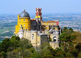 Pena Palace, Cascais, Lisbon, Portugal / Lisbon, Portugal