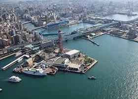Scenic Cruising Kanmon Strait / Fukuoka (Hakata), Japan