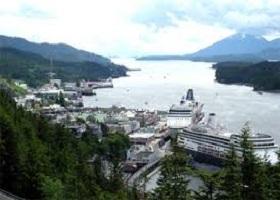 Ketchikan, Alaska, US / Transit Snow Pass / Transit Decision Passage