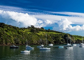 Matiatia Bay, Waiheke Island, New Zealand