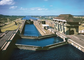 Panama Canal, Panama / Balboa / Fuerte Amador, Panama