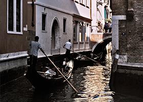 Venice, Italy / Disembark and Head into Venice