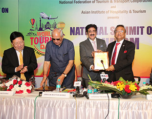 National Summit on Tourism Presented to our Chairman Mr. Subhash Goyal